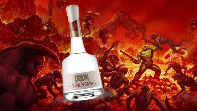 Así es el curioso vodka hecho con huesos de DOOM 1