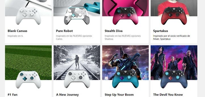 Estos son los mandos más bonitos de Xbox Design Lab de la comunidad 2