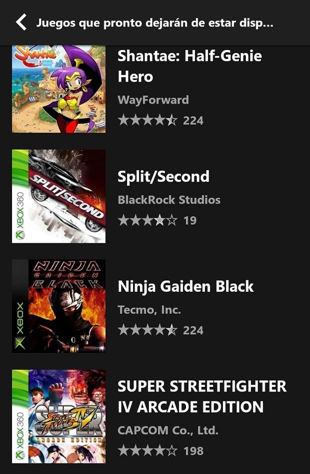 Super Street Fighter IV Arcade Edition también se cae de Xbox Game Pass 2
