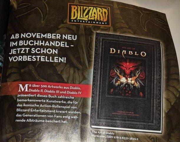 Diablo 4 es cada vez más real gracias a un libro de arte 2