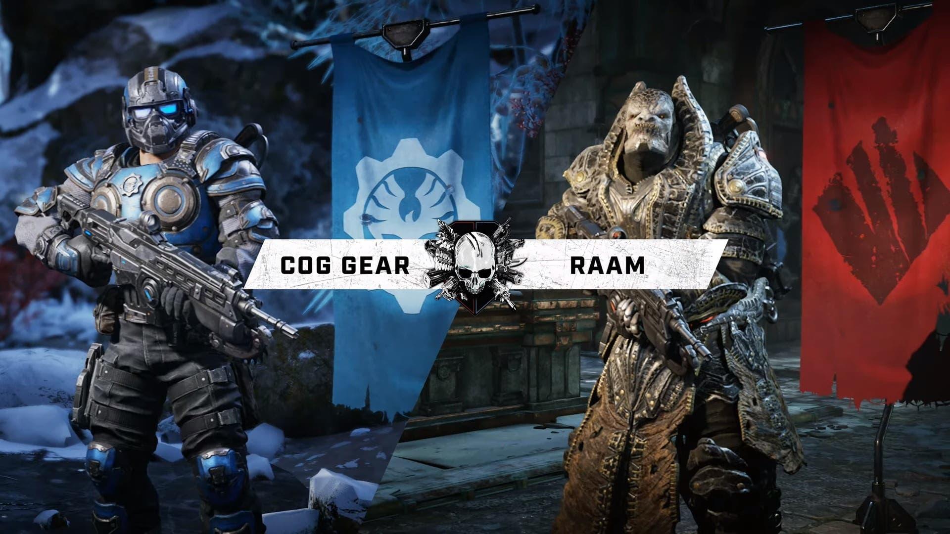 Estos son los personajes de la Operación 1 de Gears 5 2