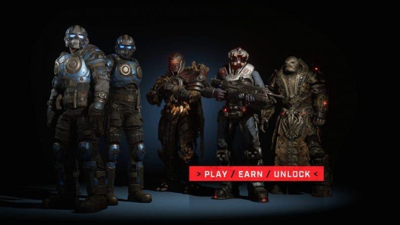 Estos son los personajes de la Operación 1 de Gears 5 1