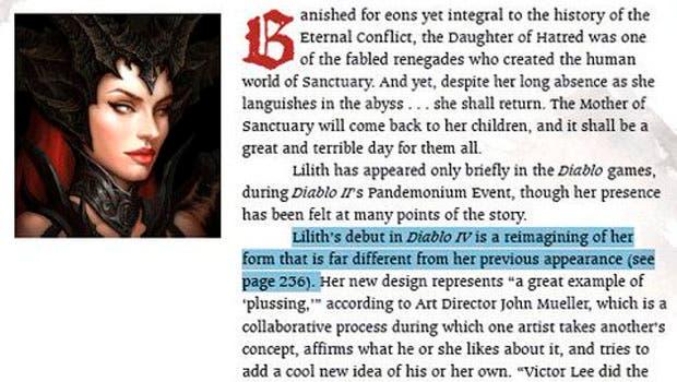 Desveladas nuevas pistas de Diablo 4 desde el libro de arte