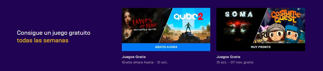 Disponibles gratis Layers of Fear y Q.U.B.E.2 en la Epic Store