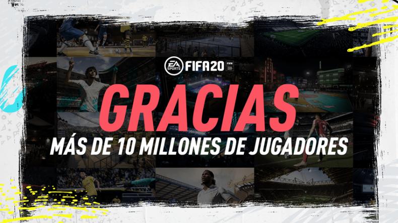 FIFA 20 logra alcanzar los 10 millones de jugadores en apenas 2 semanas 1