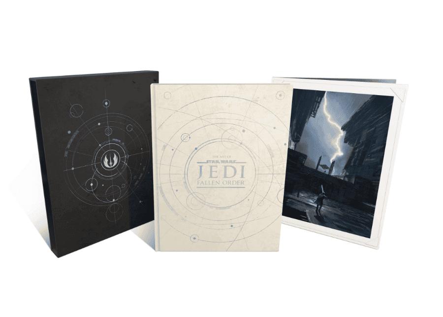 Primer vistazo al libro de arte de Star Wars Jedi: Fallen Order y a sus dos ediciones 4