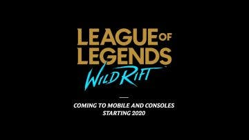 League of Legends: Wild Rift confirma su llegada a consolas en 2020 7
