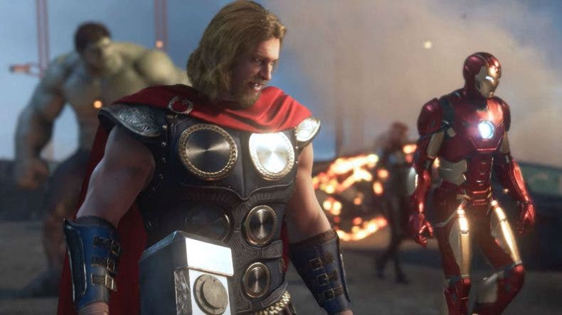Presentación de la nueva apariencia de Thor en Marvel's Avengers 1