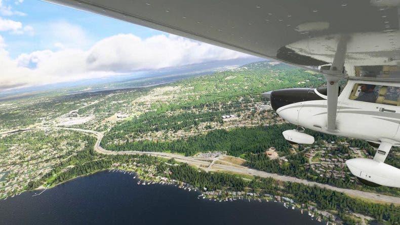 Microsoft Flight Simulator muestra un primer gameplay desde la alpha 1