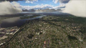 Así de espectacular es la tierra vista desde Microsoft Flight Simulator 4