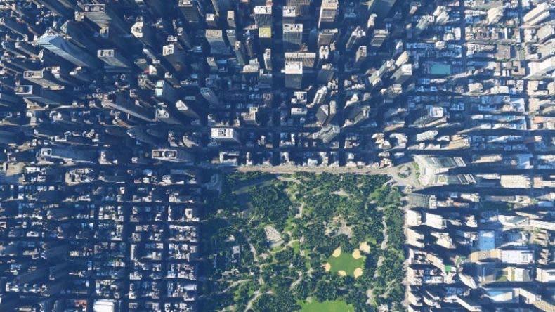 Así es la tierra vista desde Microsoft Flight Simulator