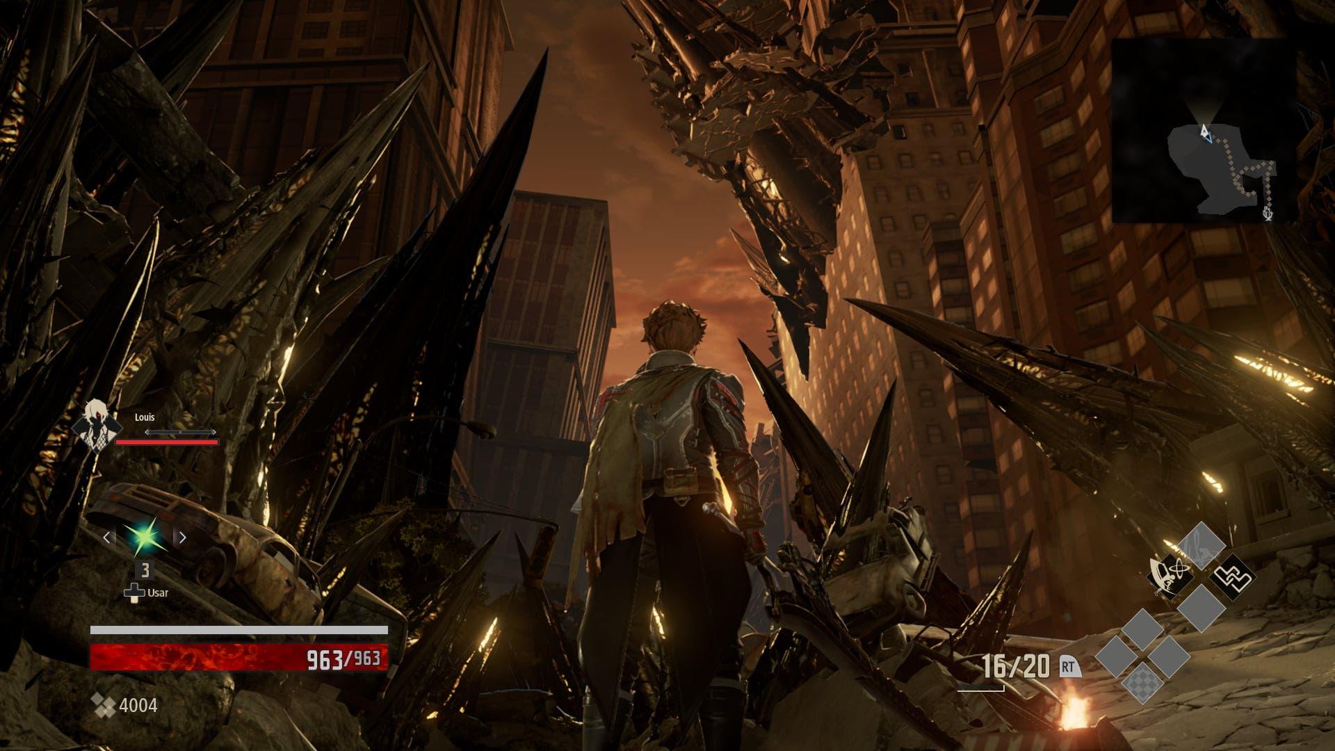 Análisis de Code Vein - Xbox One 1