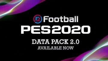 Ya disponible el Data Pack 2.0 para eFootball PES 2020 3