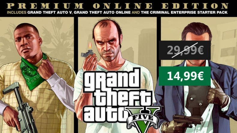 Oferta GTA V Premium Edition Xbox One 1