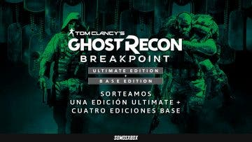 Sorteamos cinco Ghost Recon: Breakpoint para Xbox One 5