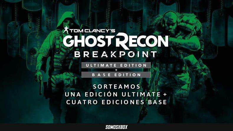 Sorteamos cinco Ghost Recon: Breakpoint para Xbox One 1