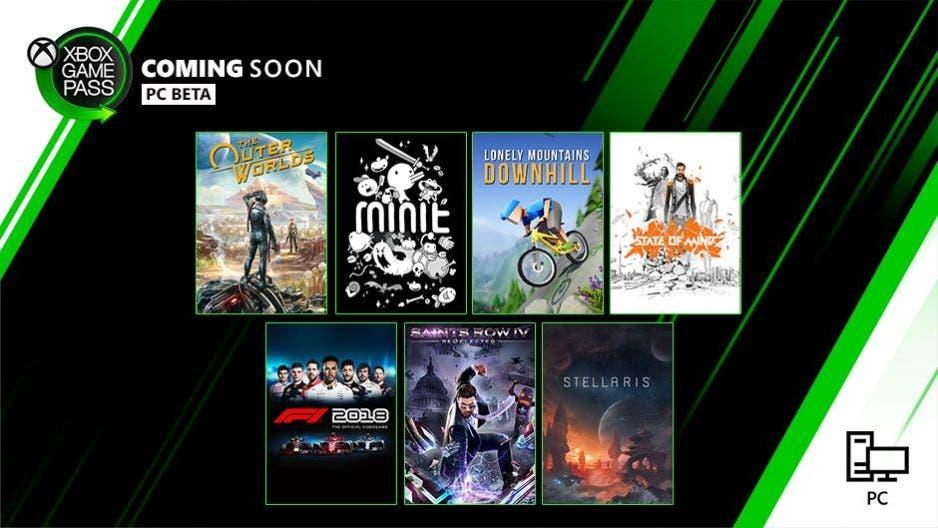 Nuevos juegos ya disponibles en Xbox Game Pass tanto en Xbox One como PC