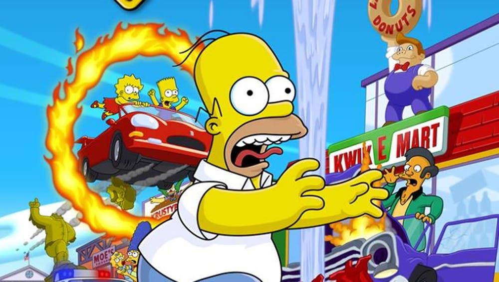El desarrollo de The Simpsons Hit & Run 2 fue una realidad que no pudo llevarse a cabo