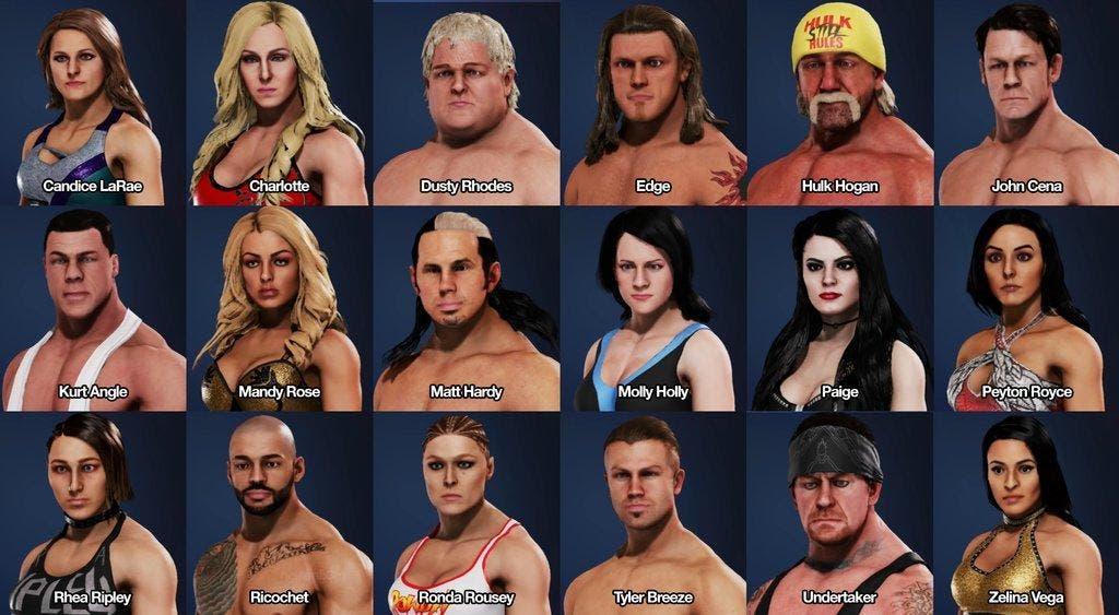 WWE 2K20 desata las mofas por su calidad gráfica