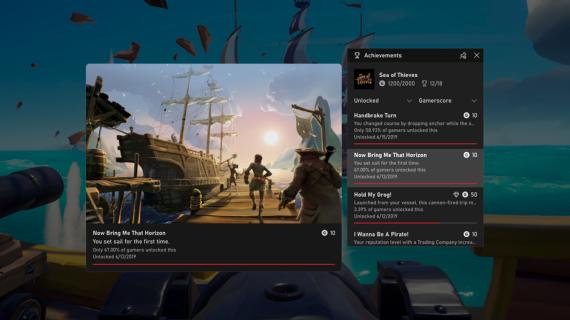 Xbox Game Bar añade monitorización de rendimiento y seguimiento de logros 8
