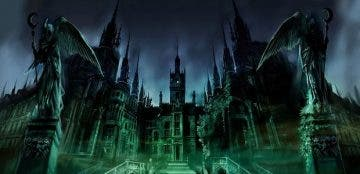 Precioso concept art del Asilo Arkham de Batman: Arkham Asylum 2