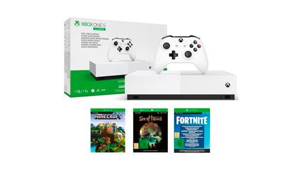 Comprar Xbox One S All-Digital Edition y la oferta de 3 meses de Xbox Game Pass Ultimate, mejor regalo estas Navidades 1