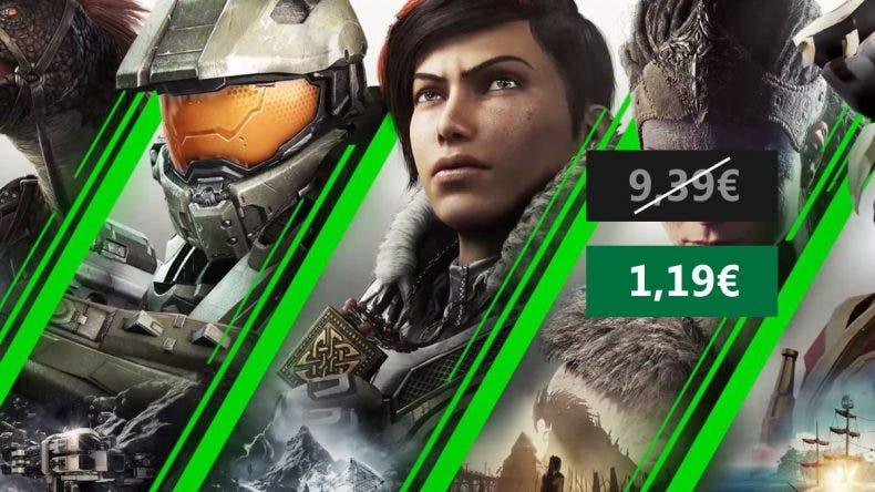 Consigue 1 mes de Xbox Game Pass Xbox One por solo 1,19€ 1