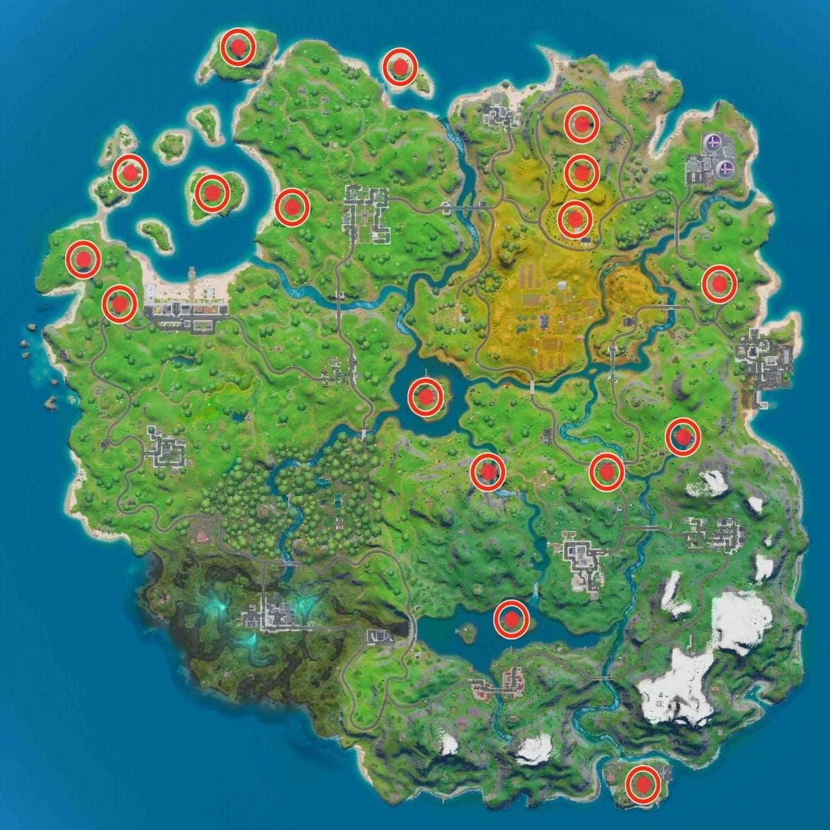 Cómo completar los desafíos 'Forjado en Sorbete' en Fortnite 4