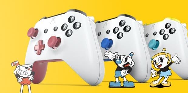 Studio MDHR diseña unos espectaculares mandos de Xbox One de Cuphead 2