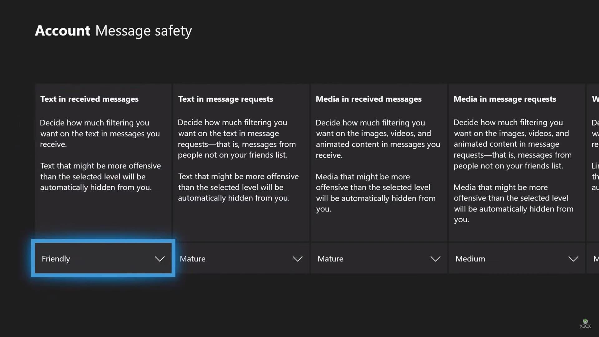 Xbox One permitirá filtrar los mensajes que recibimos en su próxima actualización 2