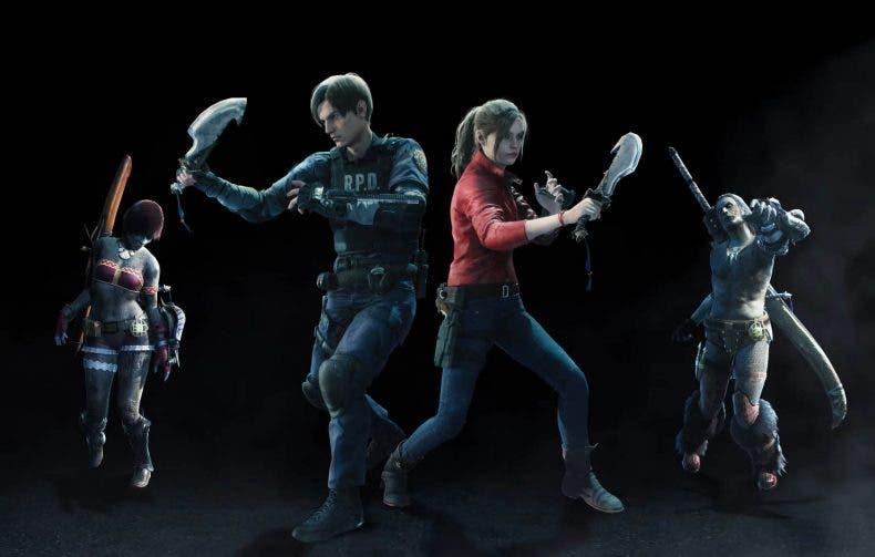 Leon y Claire de Resident Evil se unirán a Monster Hunter World: Iceborn 1