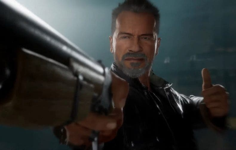 El T-800 de Terminator estrena tráiler en Mortal Kombat 11