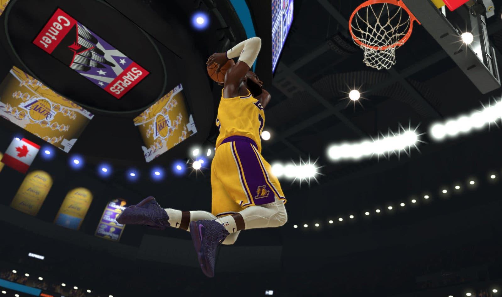 NBA 2K20 LeBron Nike