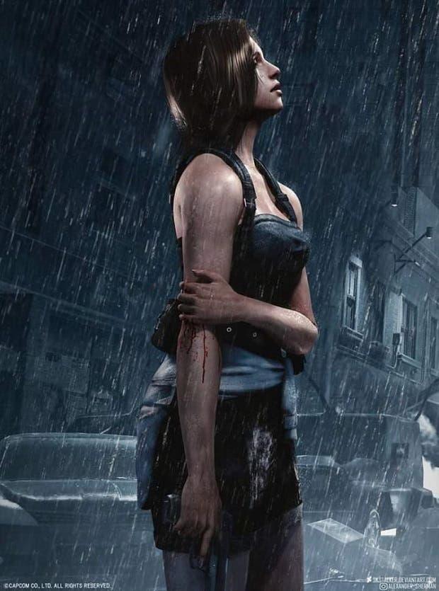 Tremenda recreación de Jill Valentine en Resident Evil 3 Remake 2
