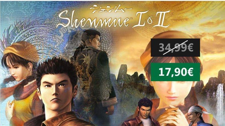 Nueva oferta Shenmue I & II para Xbox One 1