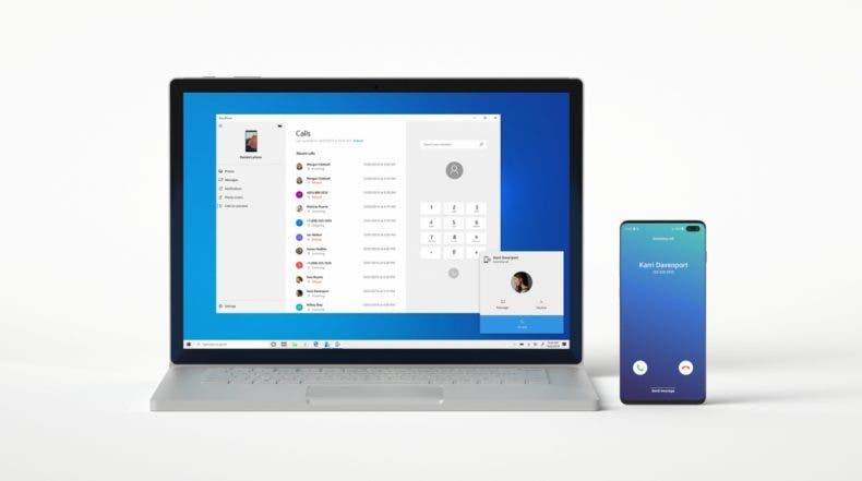 Windows ya te deja contestar llamadas de Android en una PC