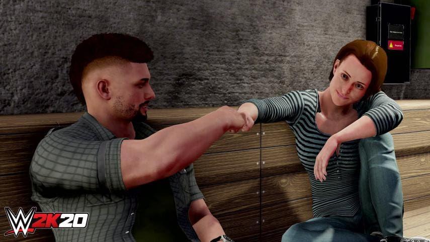 WWE 2K20 muestra su tráiler oficial del modo MiCarrera 2