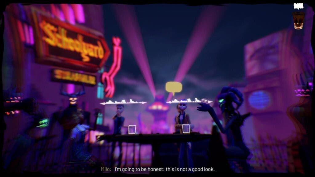 Análisis de Afterparty - Xbox One 2
