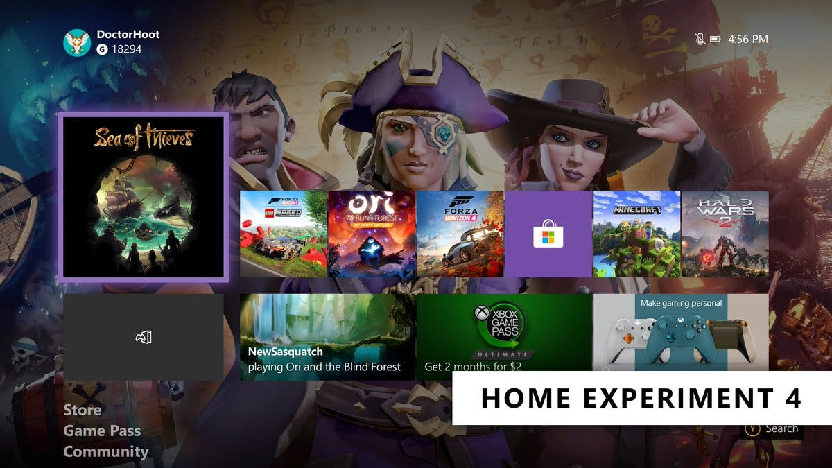 Deja que tu Xbox One decida con el nuevo botón sorpréndeme 4