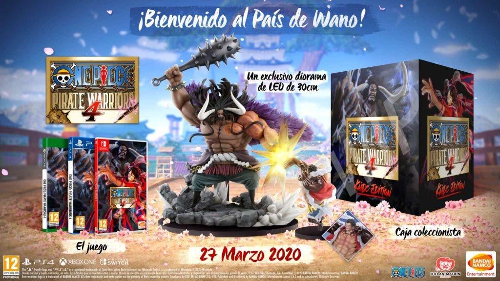 One Piece Pirate Warriors 4 anuncia su fecha de lanzamiento en Xbox One 2