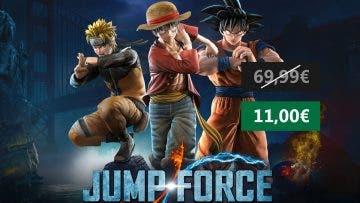 Aprovecha esta oferta de Jump Force para PC 5