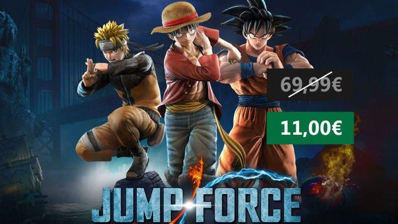 Aprovecha esta oferta de Jump Force para PC 1