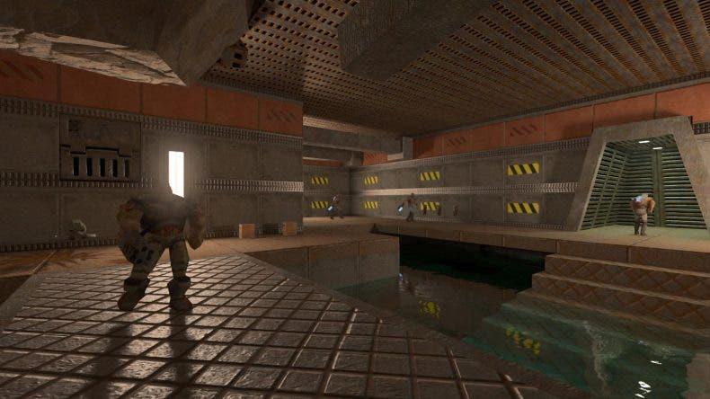Así luce Quake 2 RTX tras su última actualización que mejora el Ray Tracing 1