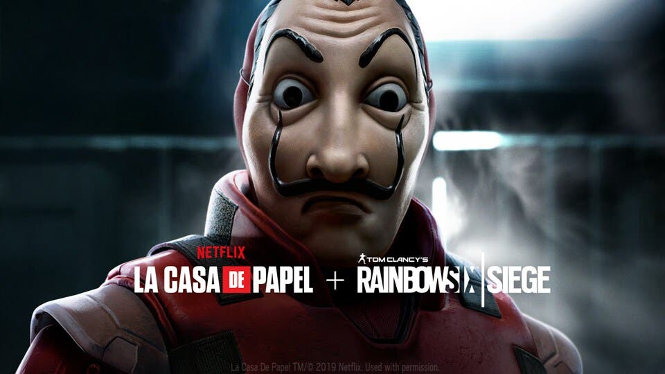 Ya está disponible el evento de La Casa de Papel en Rainbow Six Siege 18