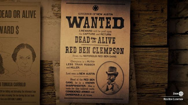 Cómo capturar a Red Ben Clempson en Red Dead Online 2