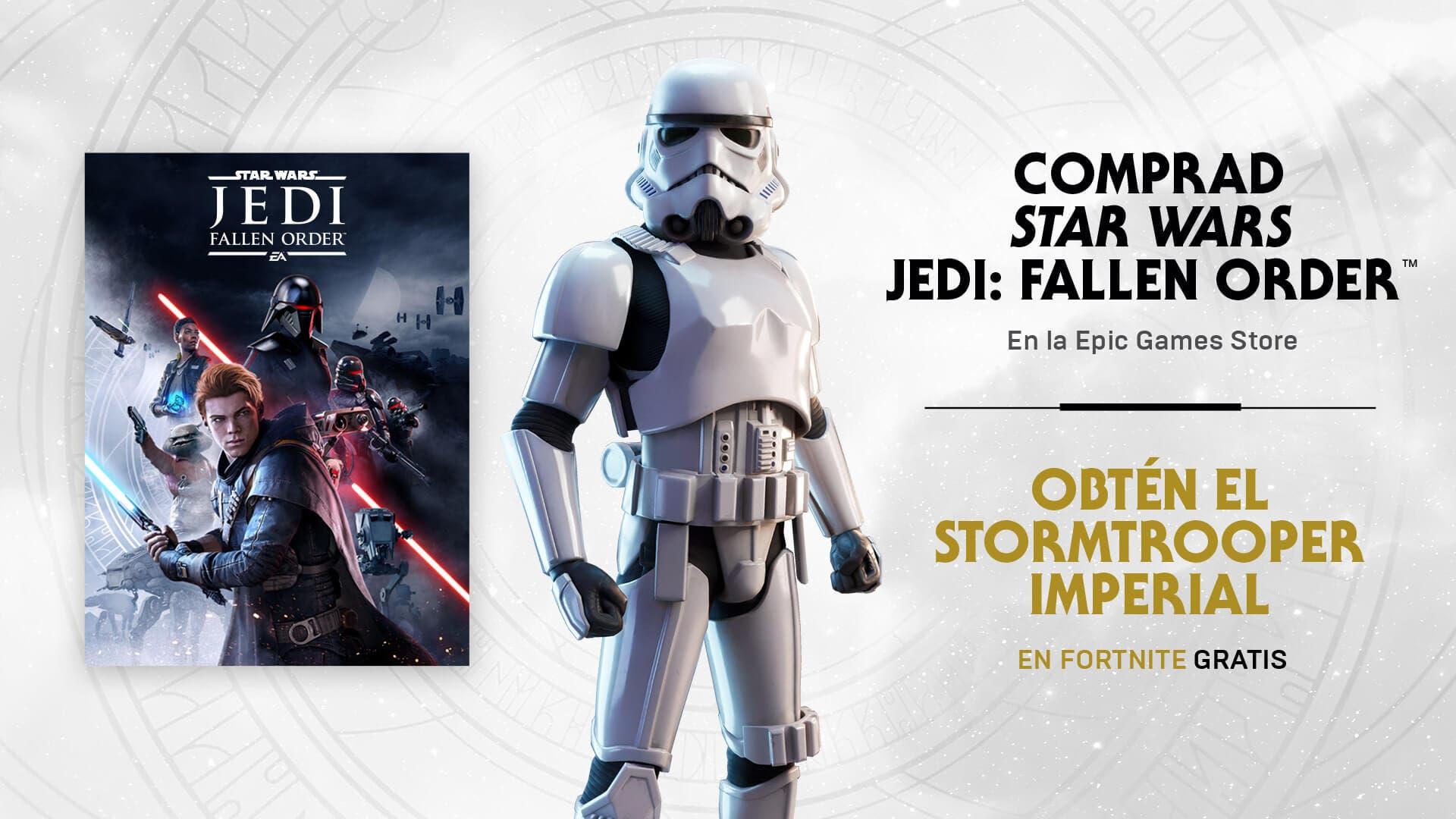Star Wars llega a Fortnite