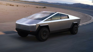Ya se puede ver el Cybertruck de Tesla en Grand Theft Auto V 10