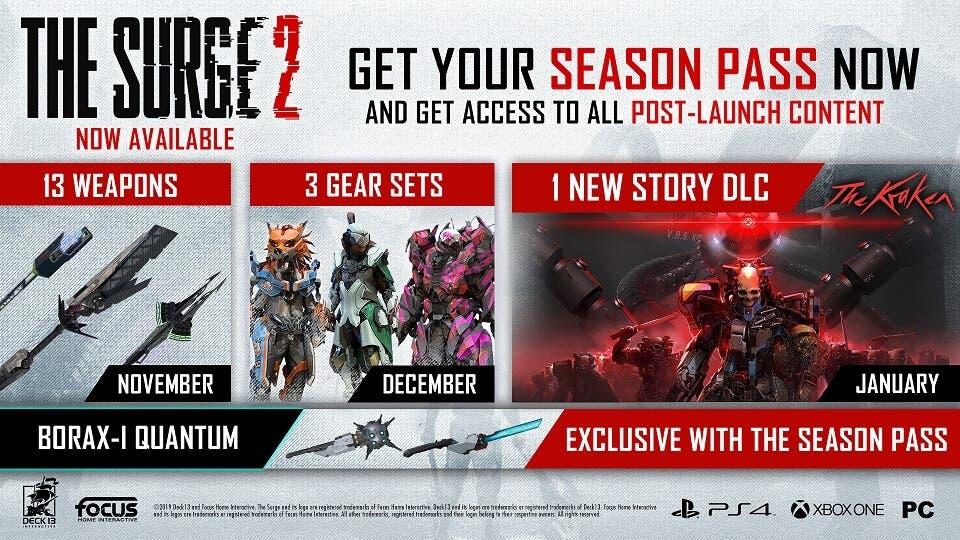 The Surge 2 ha lanzado su primer DLC del Season Pass 2