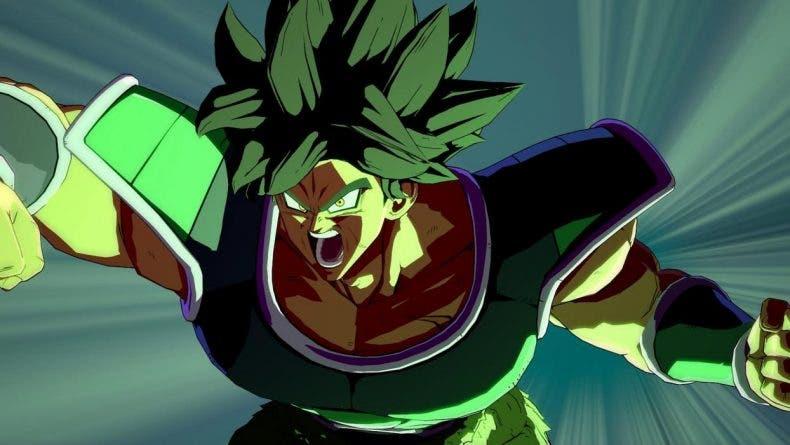 Broly (DBS) en Dragon Ball FighterZ