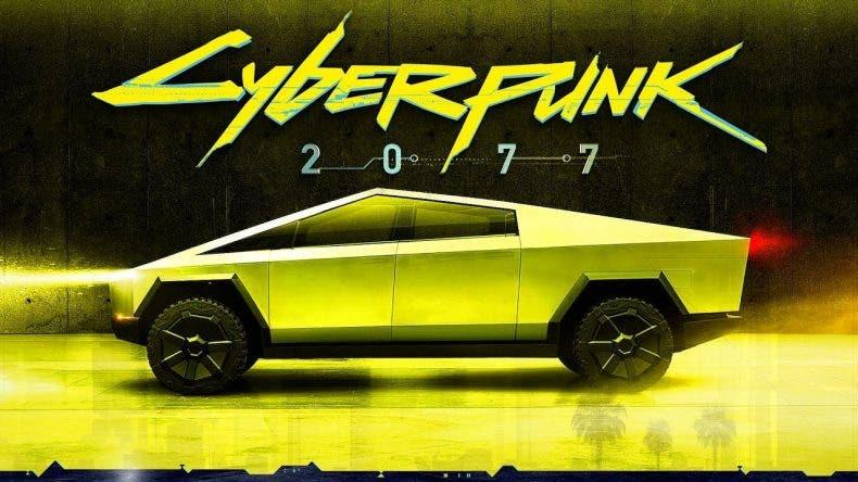 El Cybertruck de Elon Musk podría llegar a Cyberpunk 2077 1